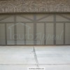 Custom carriage style garage door installed in Buford, GA