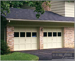 Wood Garage Door Sections. While Not Actually All Wood, These Would Be What  Most People Would Refer To As