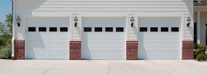 CHI model 2250 steel raised panel garage door