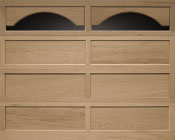Clopay Recessed Garage Door Wood Panel Atlanta