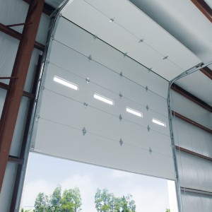 Commercial overhead doors and openers roll up sectional for Sectional glass garage door