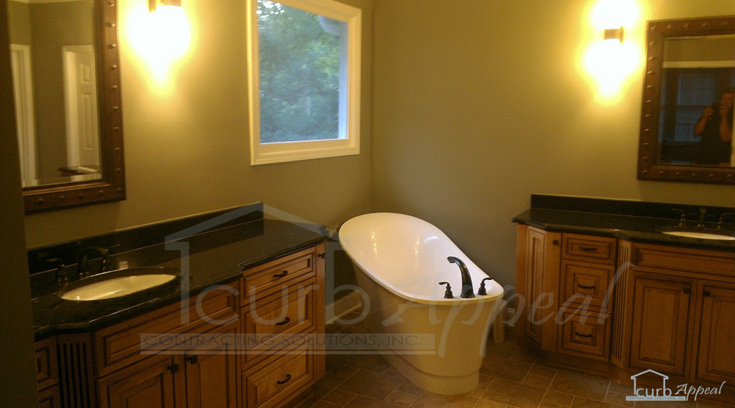 Bathroom remodel in Duluth, GA