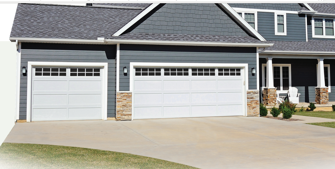 We Install Recessed Panel Garage Doors Curb Appeal