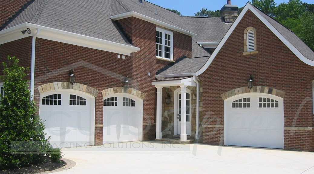 Garage door installation curb appeal contracting Curb appeal doors