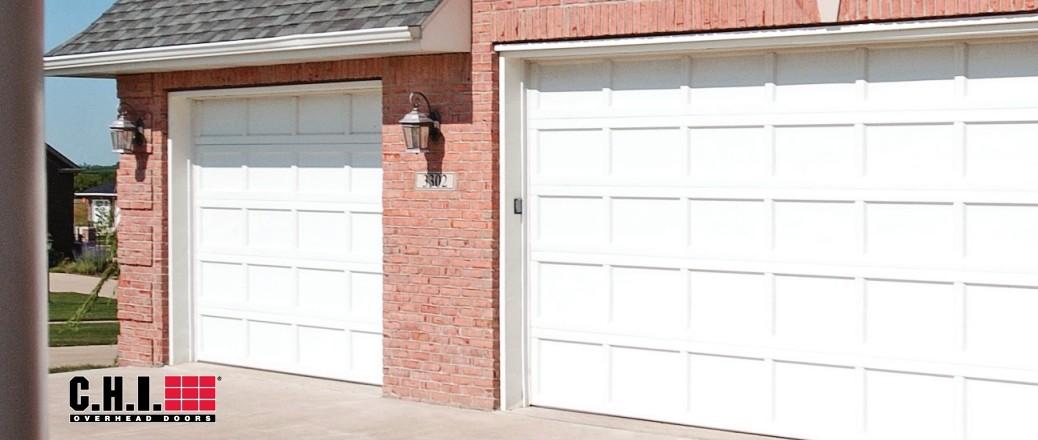 traditional garage doors made from steel & We Install Recessed Panel Steel Garage Doors. | Curb Appeal ...