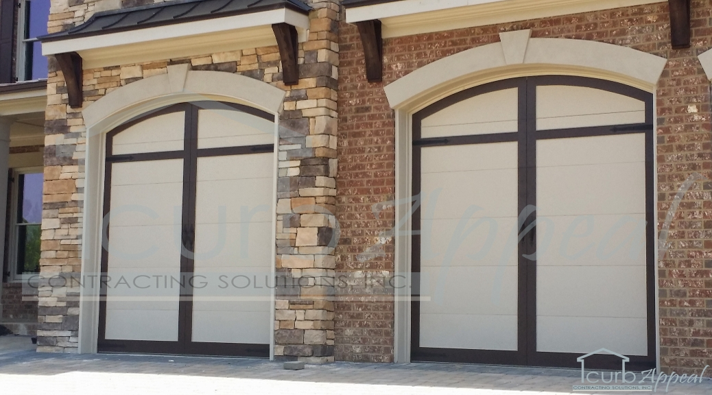 Carriage House Overlay Garage Doors Installed In Duluth