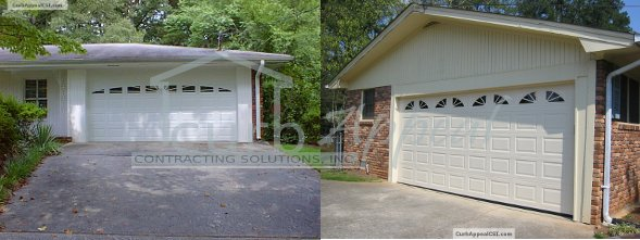 carport converted to enclosed garage