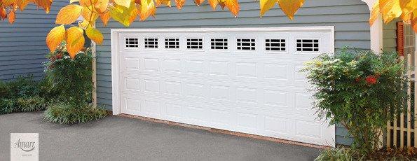 stratford from amarr short panel steel garage door