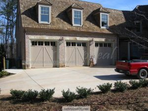 3 Carriage Style Garage Doors