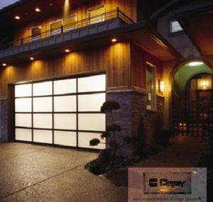 Clopay's Avant line of garage door installation sugar hill, ga