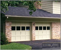 replacement garage door section repair sugar hill, ga