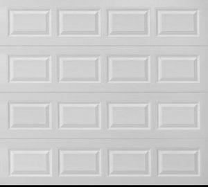 new steel garage door sections