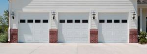 CHI model 2250 steel raised panel garage door