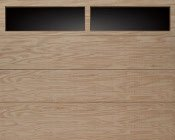 Clopay Flush Wood Garage Door Panel Atlanta