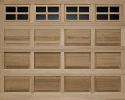 Clopay Raised Panel Wood Garage Doors Atlanta