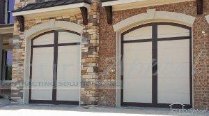 Carriage Overlay Garage Doors Installed In Duluth, GA