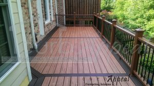 Deck Using Trex Boards