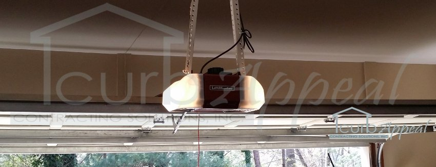 New Garage Door Opener Installed In .Sugar Hill, GA