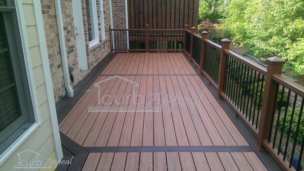 New deck in Alpharetta, GA