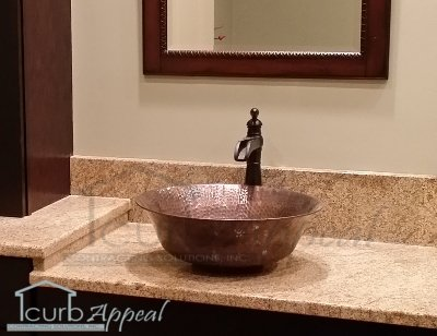 Barclay Copper Vessel Sink