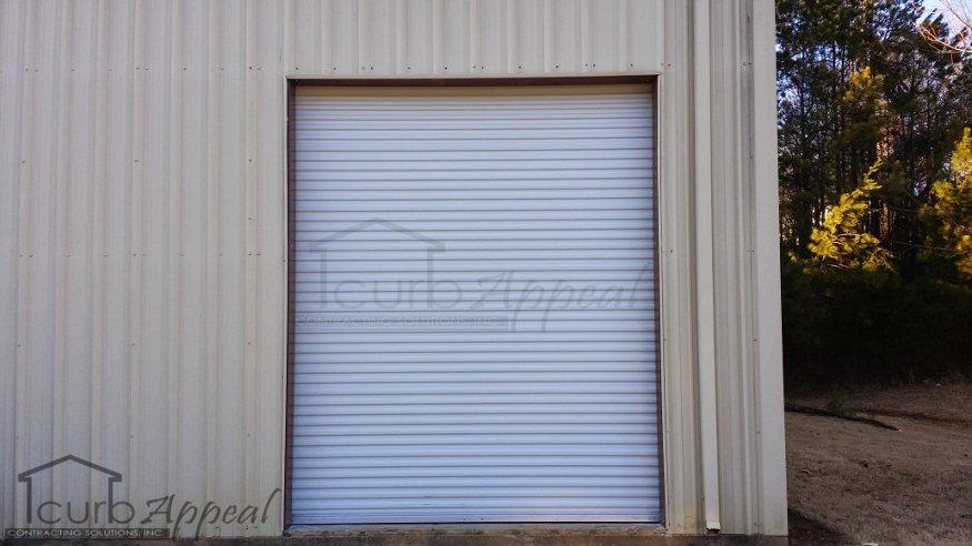 New Rollup Door Installed In Gainesville, GA
