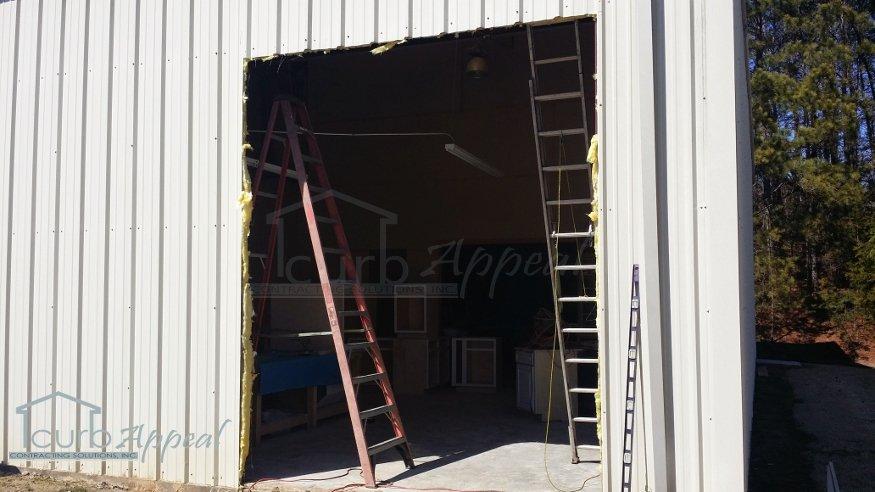 New Opening For Roll Up Door In Gainesville, GA