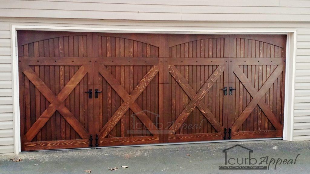 Carriage Style Garage Door in Curmming GA