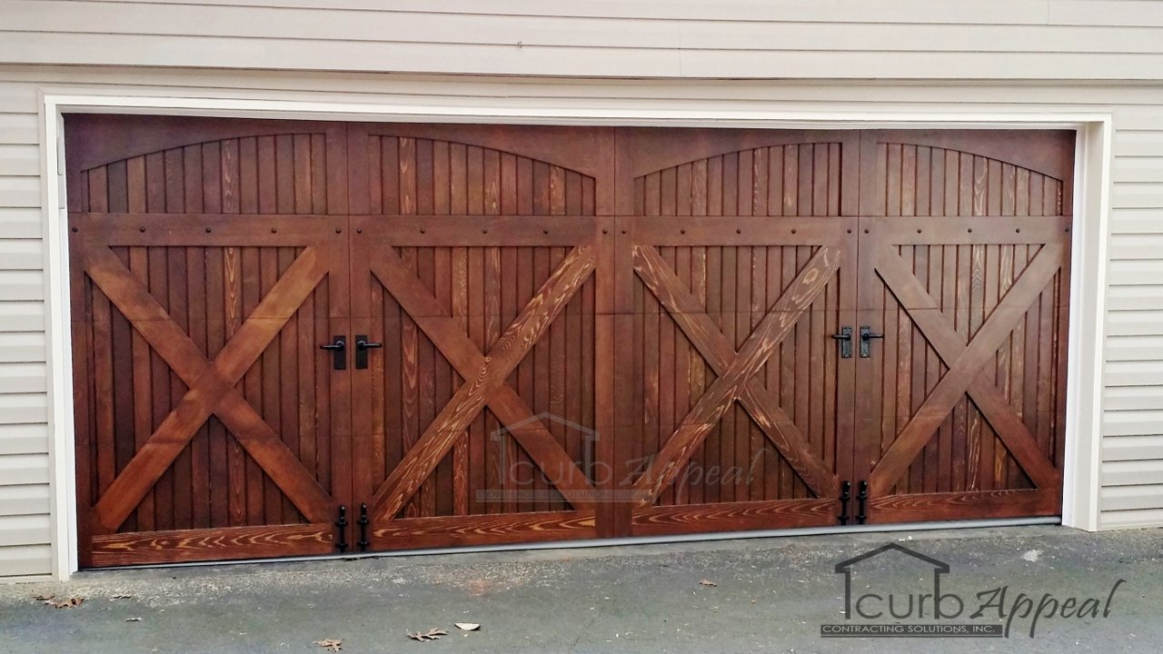 Carriage Style Garage Door in Curmming GA