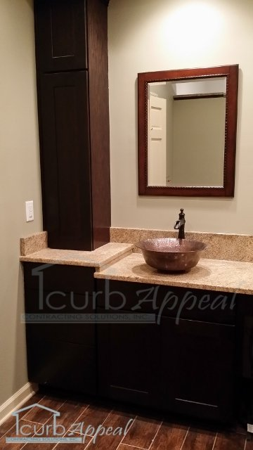 Vanity With Copper Sink Atlanta