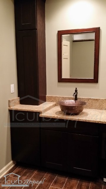 Vanity With Copper Sink Atlanta
