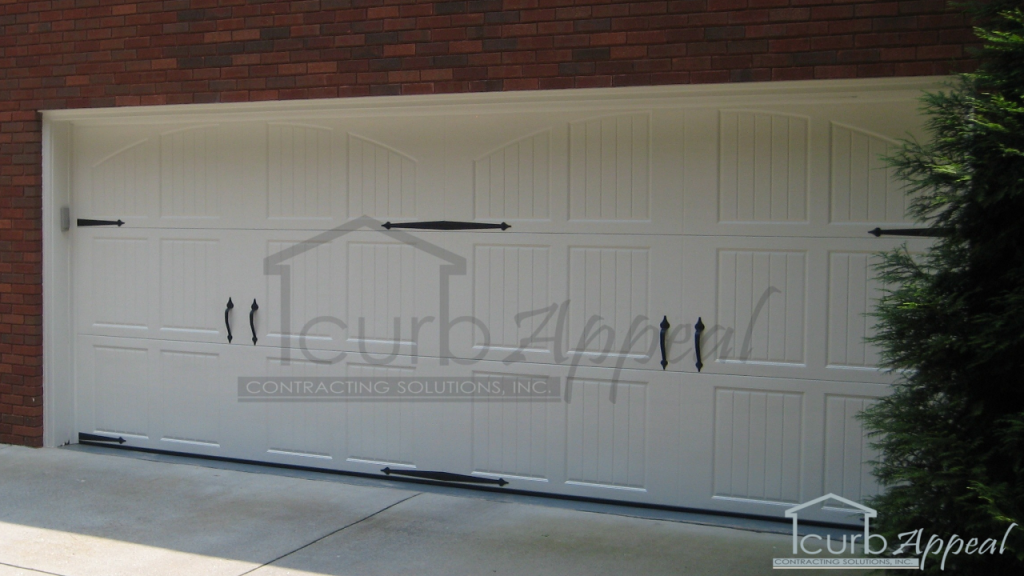 tuscany carriage style steel garage door